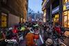 Fent una sentada - Protesta pel nou projecte de Via Laietana