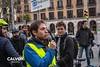Carlos Benito president del BACC - Protesta pel nou projecte de Via Laietana