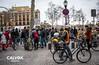 Arriba el futur en bici - Protesta pel nou projecte de Via Laietana