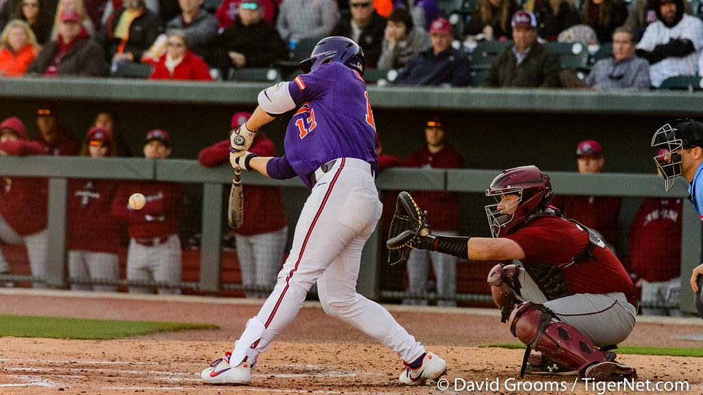 Clemson Photos: Adam  Hackenberg, 2020, Baseball, South  Carolina