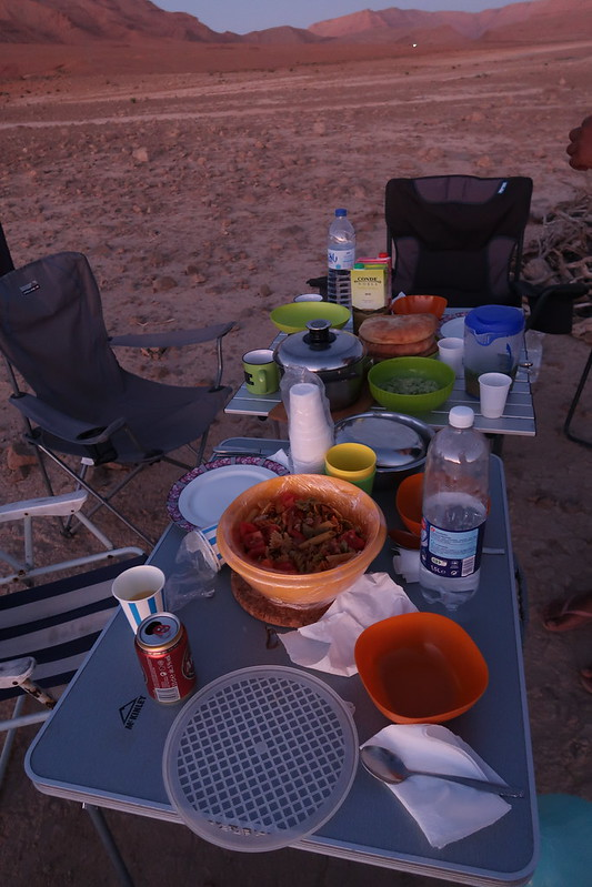 Wild camping Morocco desert lake with friends at Barrage Al- Hassan Addakhil , vanlife family
