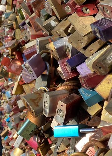 the padlock Love story