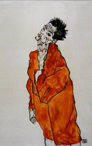 IMG_6532G Egon Schiele Self portrait   THE ART AND THE CONCEPT OF THE ARTIST. DEVELOPMENTS.