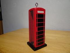 Telephone Box Bird Feeder 7