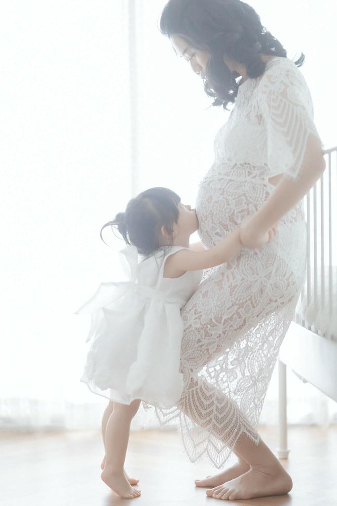 台南孕婦寫真|能時尚又能溫柔婉約孕婦寫真|愛情街角