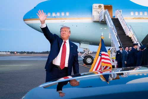 President Trump Departs for South Caroli by The White House, on Flickr