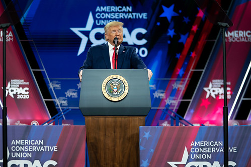 President Trump Delivers Remarks at CPAC by The White House, on Flickr