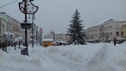 winter in Banská Bystrica (2017)