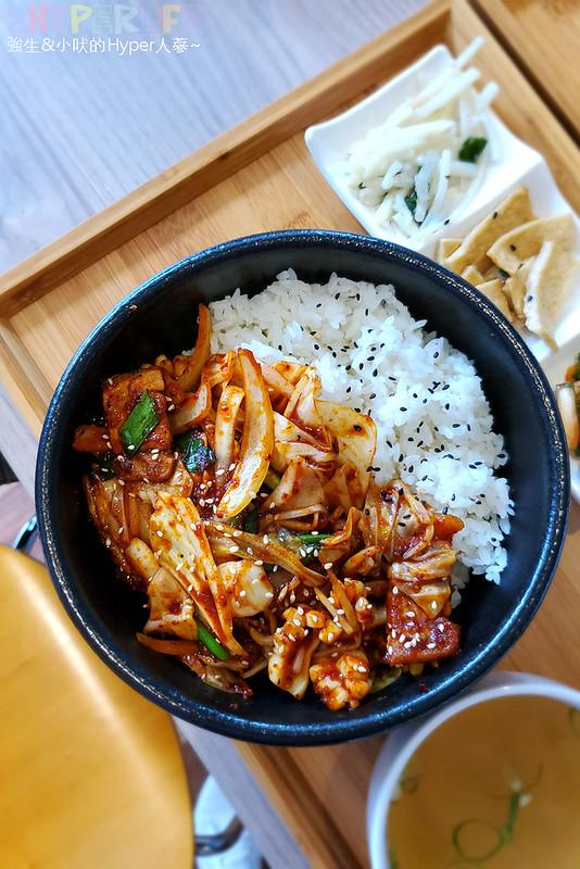 49612006493 0b2db99706 c - 必吃湯頭濃郁口味道地的辣豆腐鍋,崔基虎韓國料理還有韓國街頭常見的黑糖煎餅喔~
