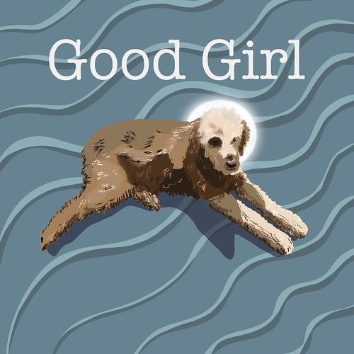 Sofi is a good girl. Yes, she is! Procreate on ipad pro.