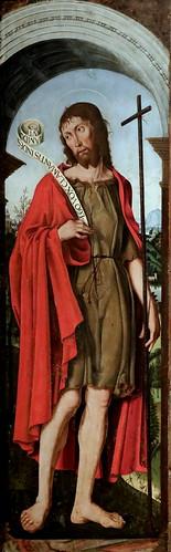 IMG_9401 X Ferrara vers 1490 Saint Jean Baptiste  Ferrara Pinacotheca Nazionale