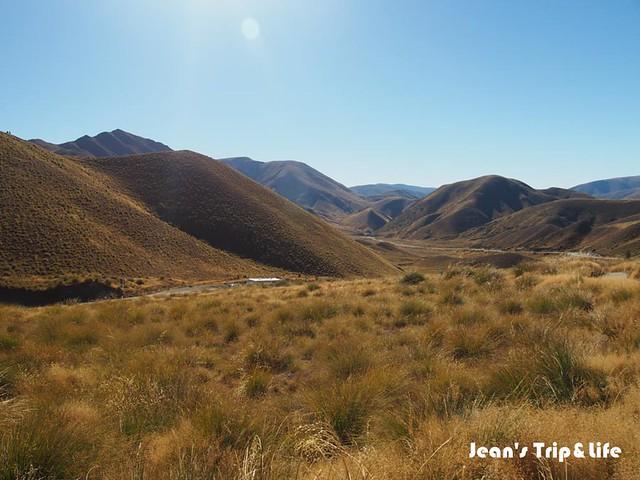 紐西蘭8號公路林迪斯隘口New Zealand Lindis Pass