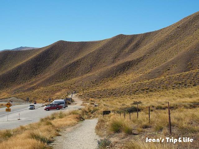 林迪斯隘口 Lindis Pass 停車場