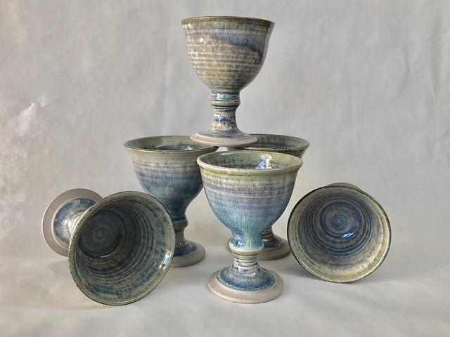 Young George  'Set of Wine Goblets'
