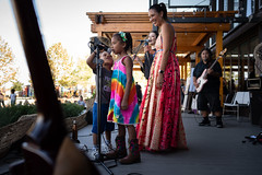 """Maya Jupiter with kids performing _Sing the World Awake_! • <a style=""""font-size:0.8em;"""" href=""""http://www.flickr.com/photos/153982343@N04/49614665233/"""" target=""""_blank"""">View on Flickr</a>"""