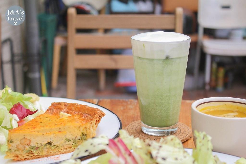 野餐咖啡 Picnic Cafe 平日下午人潮滿滿的超人氣鹹派司康專賣店,來巷弄中品嚐清新下午茶!【捷運公館】 @J&A的旅行