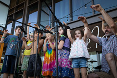 """Childrens Village Performers at Imagine Fest • <a style=""""font-size:0.8em;"""" href=""""http://www.flickr.com/photos/153982343@N04/49615175451/"""" target=""""_blank"""">View on Flickr</a>"""