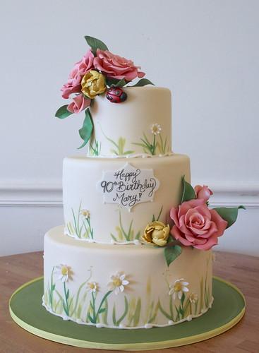 Spring Flowers cake