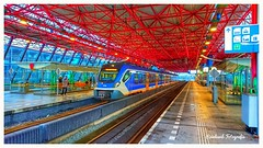 Nederlandse Spoorwegen 2701 ( SNG ,CAF-Civity) Lelystad-Centrum ( NL)