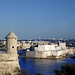 Birgu from Valletta, Malta