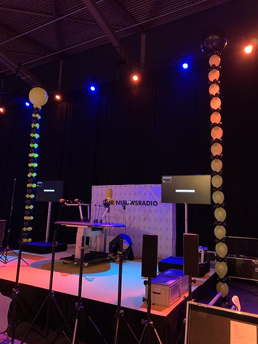 Ballonslinger Doorknoopballonnen BNR Nieuws Radio Business Boost Live Ahoy Rotterdam