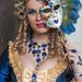 Model(s) a the 2020 Carnevale di Venezia