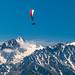 Gliding over Verbier