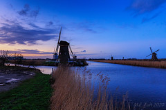 Sunset @ Kinderdijk