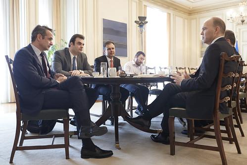 Συνάντηση με Global CEO Vodafone - Nick Read