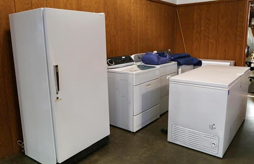 Upright Kenmore Freezer - far left- ($392.00)