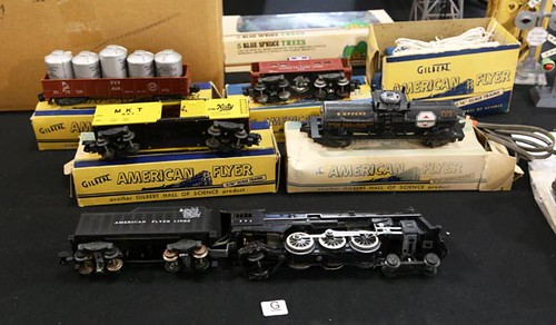 Set of American Flyer Trains & Accessories ($224.00)