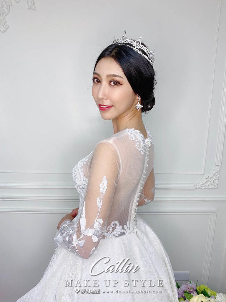 【新秘Catlin】新娘造型創作 / 韓系小公主