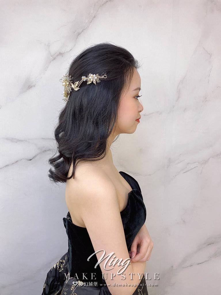 【新秘羽寧】新娘造型創作 / 氣質公主頭造型