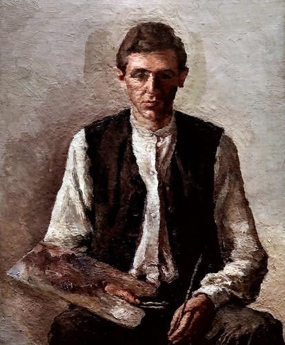 IMG_5994D Giorgio Morandi 1890-1964  Bologna  Autoportrait 1925 Parme Fondazione Magnani Rocca