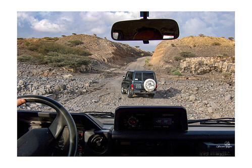Djibouti, sur la route...