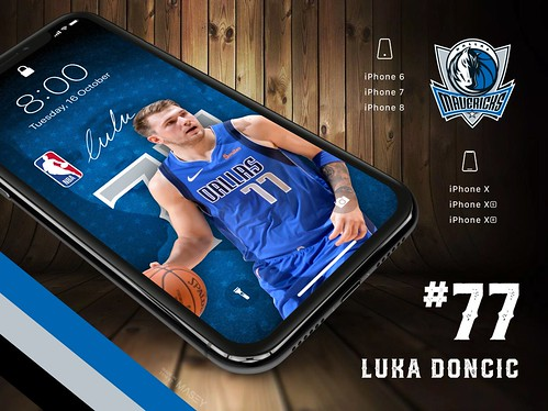77 Luka Doncic Dallas Mavericks Iphone Wallpapers A Photo On Flickriver