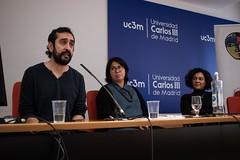 """Participamos en la Mesa redonda """"Colectivos migrantes en la escena cultural y artística española"""" • <a style=""""font-size:0.8em;"""" href=""""http://www.flickr.com/photos/136092263@N07/49623906006/"""" target=""""_blank"""">View on Flickr</a>"""