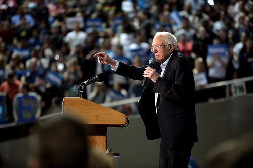 Bernie Sanders by Gage Skidmore, on Flickr