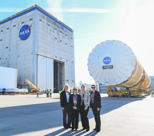 Women Lead the Way for NASA's Space Launch System Rocket Program