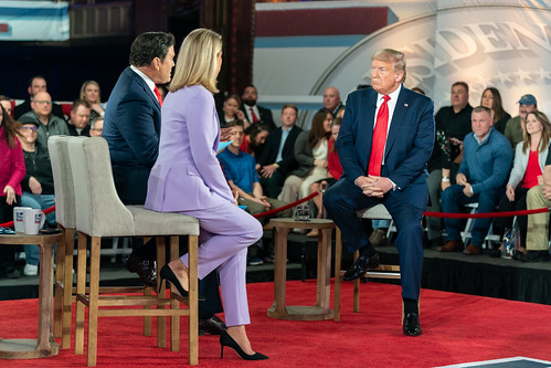 President Trump at the Fox News Town Hal by The White House, on Flickr