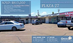 "SOLD: Plaza 27 Retail in Phoenix Arizona • <a style=""font-size:0.8em;"" href=""http://www.flickr.com/photos/63586875@N03/49627693667/"" target=""_blank"">View on Flickr</a>"