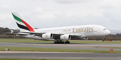 Photo of A6-EEE Emirates Airbus A380-861 2