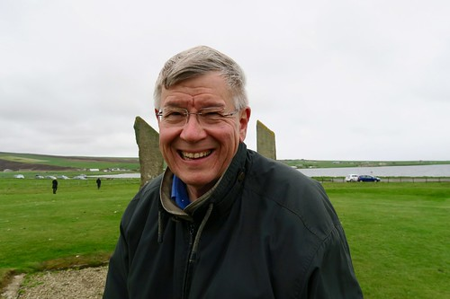 At the Standing Stones of Stenness