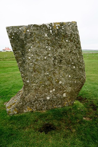 Stone of unknown significance, Standing Stones of Stenness, Mainland, Orkney Islands