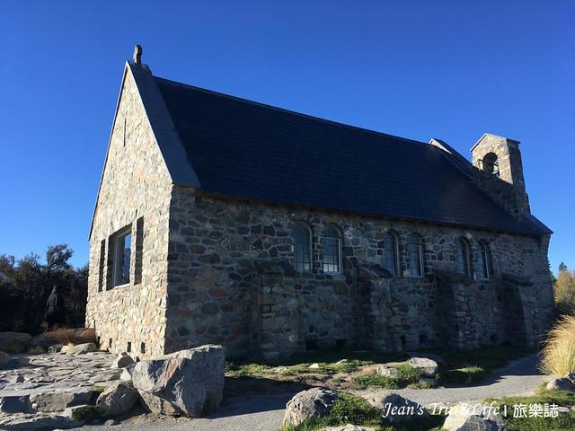 紐西蘭蒂卡波湖 Lake Tekapo 善良牧羊人教堂