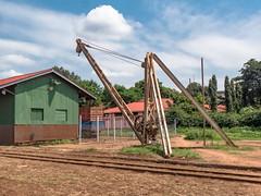 Railway Yard Crane , Moshi, Tanzania