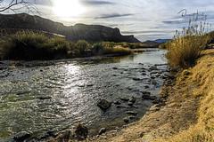The Rio Grande at Contrabando, Big Bend Ranch State Park