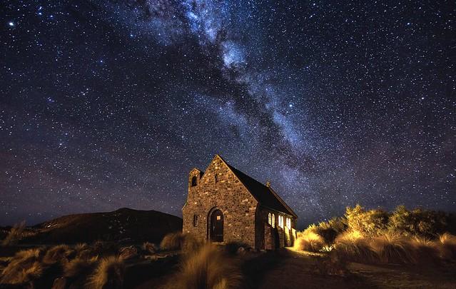 善良牧羊人教堂是觀賞星星的地方