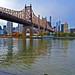 Queensboro Bridge , Roosevelt Island & Midtown Manhattan View from Queensbridge Park Queens New York City NY P00460 DSC_2896