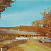 UP Munising MI 1950s THE NORTHERN MOTEL with great 50s Cars in the lot located on M-28 in the City Limits in Alger County near the Picture Rocks and so much more